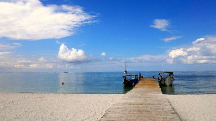 Muelle- Isla Coche- Venezuela.