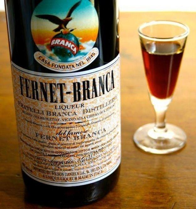 Wait, what is Fernet Branca?