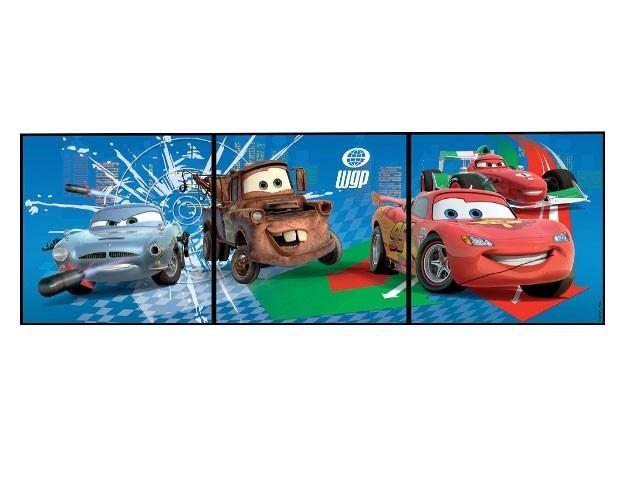 Cars 2 schilderijtjes.  14.95
