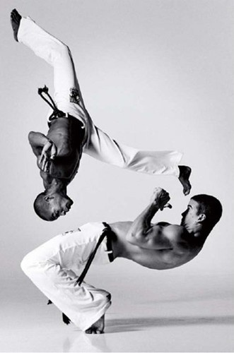 back to the days when I played capoeira