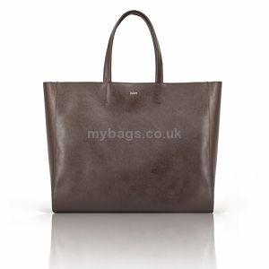 MUMU leather tote bag MADAME SAFFIANO REGINA brown http://mybags.co.uk/mumu-leather-tote-bag-madame-saffiano-regina-brown.html