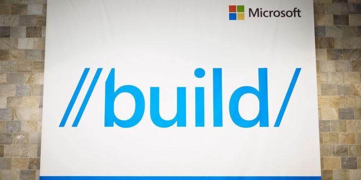Microsoft Build 2016 liveblog - http://www.sogotechnews.com/2016/03/30/microsoft-build-2016-liveblog/?utm_source=Pinterest&utm_medium=autoshare&utm_campaign=SOGO+Tech+News