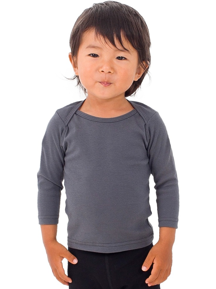 Infant Baby Rib Long Sleeve Lap T: Baby Ribs, American Apparel, Infants Baby, Lap T Shirts, Ribs Long, Sleeve Lap, Long Sleeve, Cute Kids, Apparel Infants