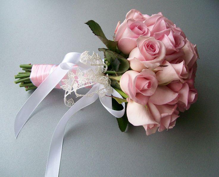 Картинки по запросу свадебные букеты розовые