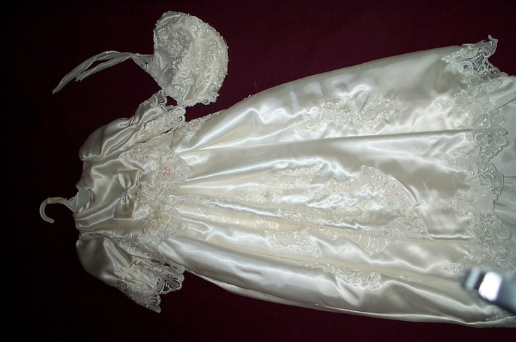 Baby Christening Gowns Made From Wedding Dresses