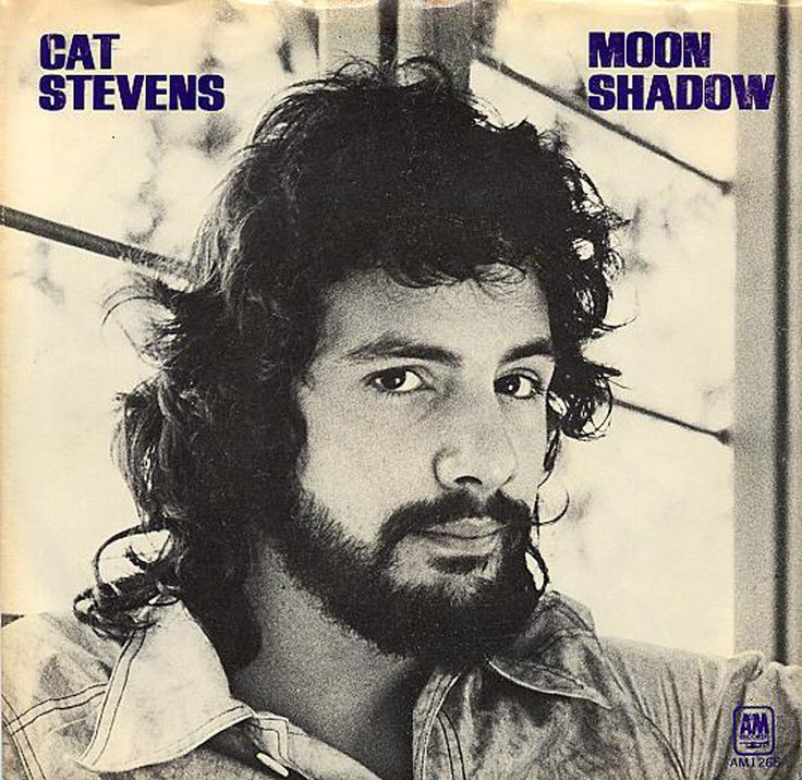 "Cat Stevens ""Moon Shadow"" (1970) 45 rpm Record Sleeve"