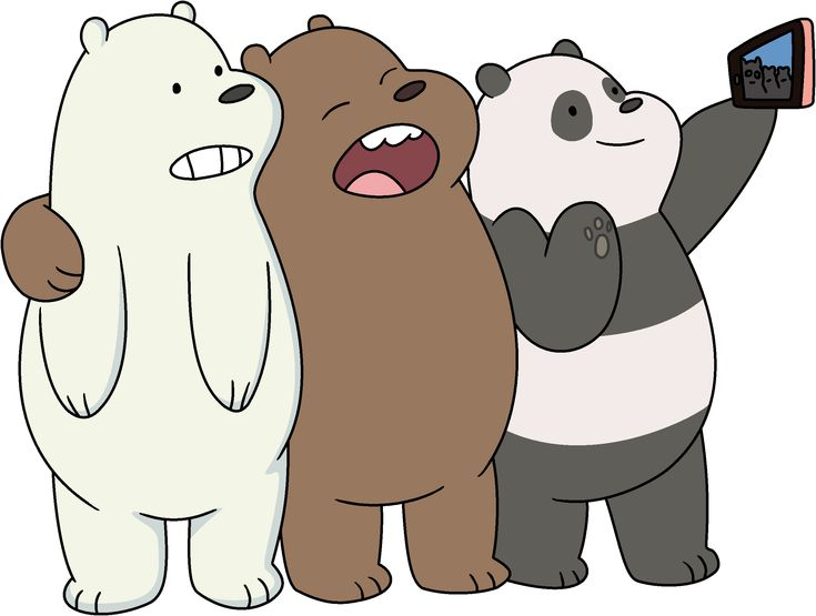 Three Bears in 2019 | Bare bears, We bare bears, We bare ...