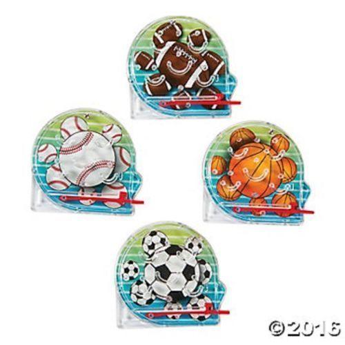 8 Mini Sports Ball Pinball Games Kids Boys Birthday Party Favors Toys Gifts #FunExpress #Birthday