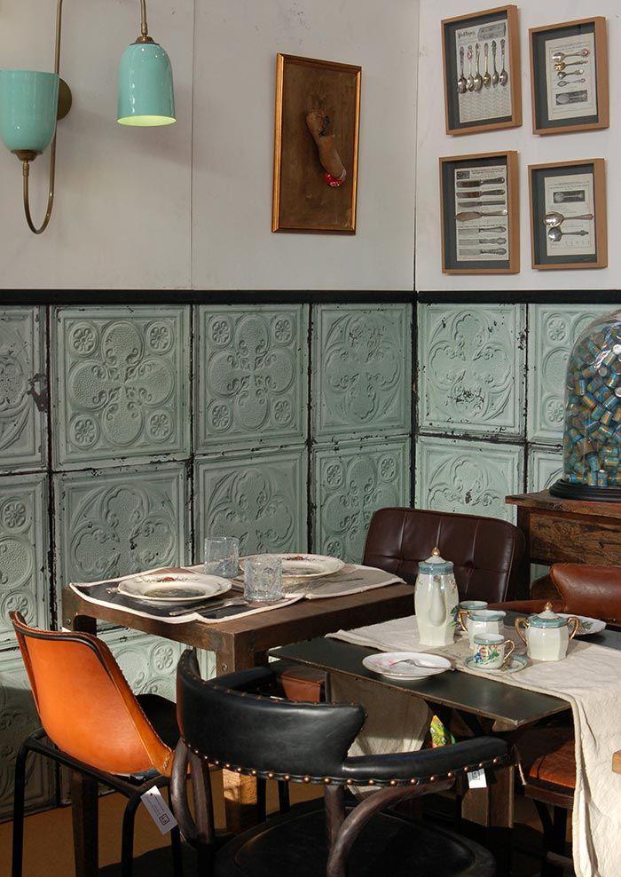 Mobiliario vintage de la firma francisco segarra en intergastra 2014 hotel pinterest - Mobiliario vintage industrial ...