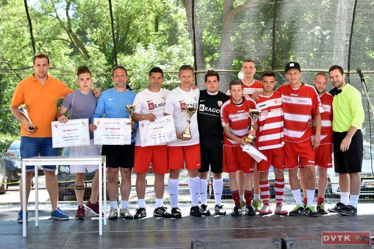 Az Újdiósgyőri SC nyerte az I. Berecz István Labdarúgó-tornát