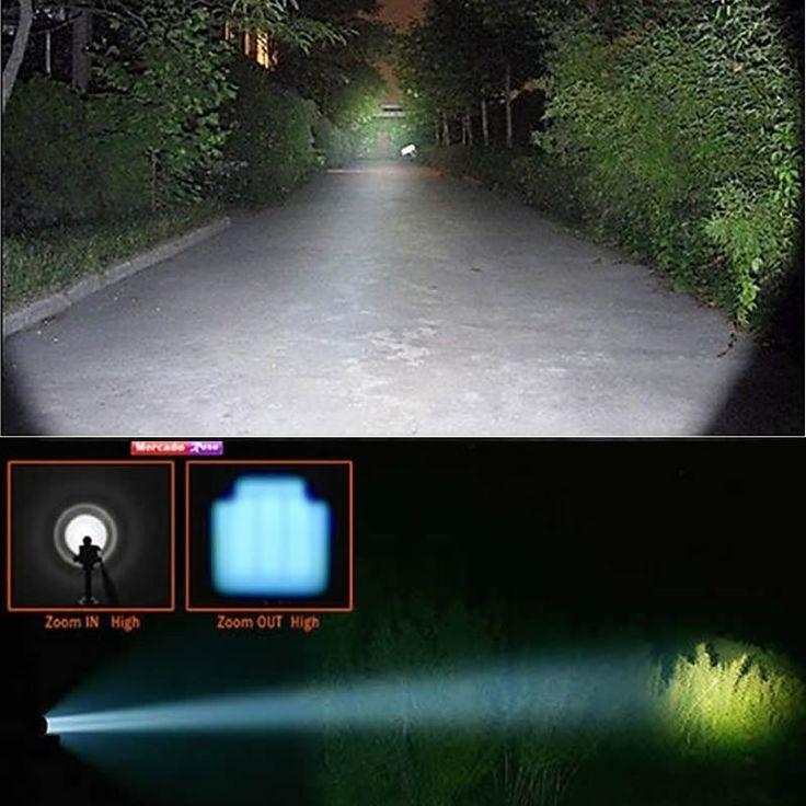 Kit Lanterna Tatica Led 168000w/470000 Lumens 1.8 Km 40%off - América Tático Aventura Artigos Militares Aventura Esportes Radicais e Camping.