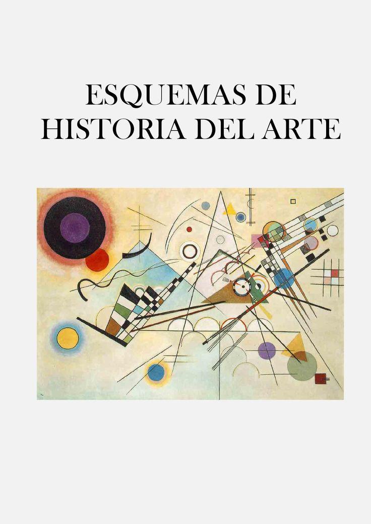 ESQUEMAS DE HISTORIA DEL ARTE  Repaso general y breve por la Historia del Arte