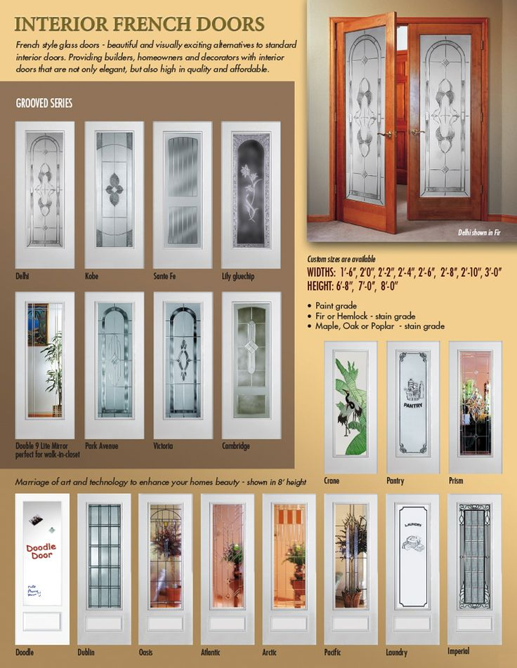 Interior french doors with glass doors french sliding - Interior french doors home depot ...