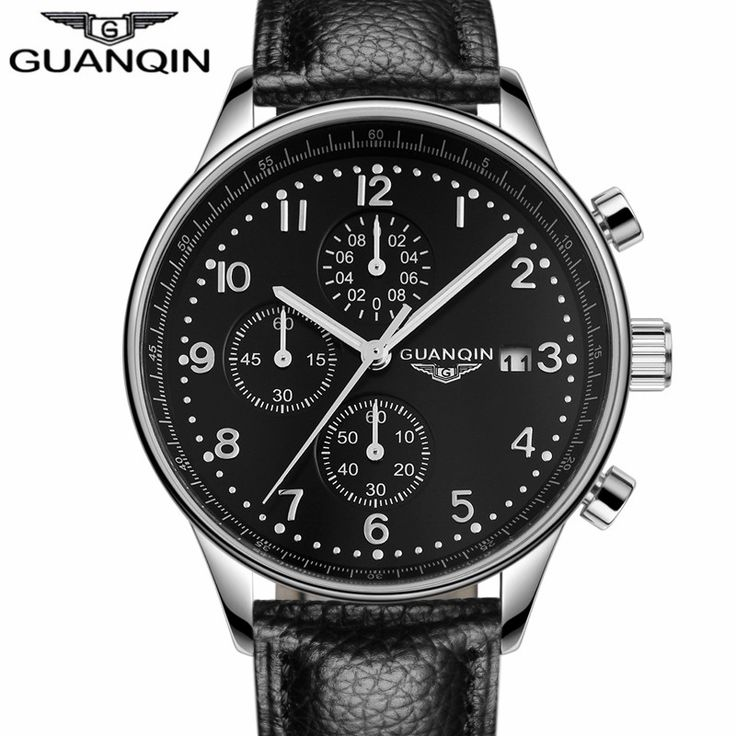 relogio masculino GUANQIN Mens Watches Top Brand Luxury Chronograph Luminous Clock Men Sport Leather Quartz Watch montre homme     Tag a friend who would love this!     FREE Shipping Worldwide     Get it here ---> https://shoppingafter.com/products/relogio-masculino-guanqin-mens-watches-top-brand-luxury-chronograph-luminous-clock-men-sport-leather-quartz-watch-montre-homme/