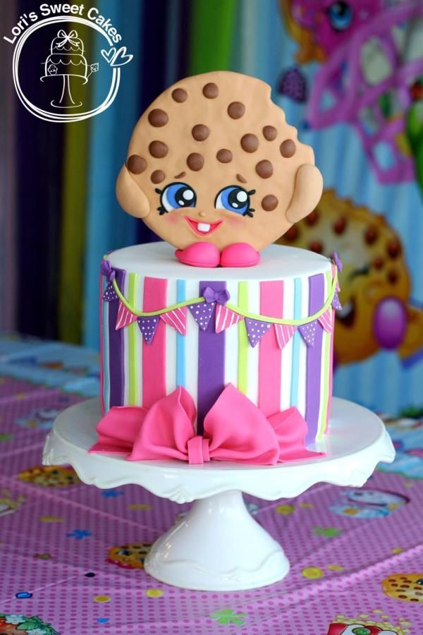 Shopkins Kooky Cookie cake by Lori's Sweet Cakes