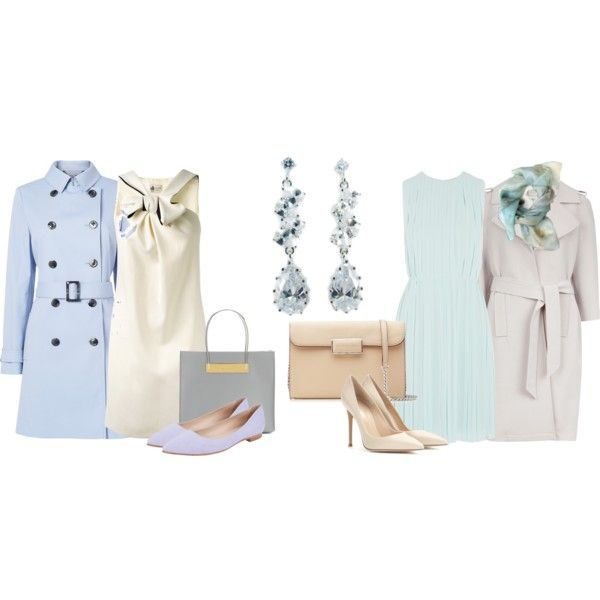 Без названия #723 by nanika777 on Polyvore featuring мода, See by Chloé, Lanvin, L.K.Bennett, Ted Baker, Gianvito Rossi, Butter Shoes, MARC BY MARC JACOBS and Balenciaga