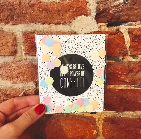 The Gift Label: ALWAYS believe in the power of confetti  repost of @lotantwerp #confettipostcards #lotantwerp #antwerp #confettiparty #thegiftlabel #tgl #Pinterest #Pinteresttips #SocialMedia