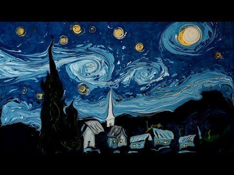 Van Gogh on Dark Water Animation - YouTube