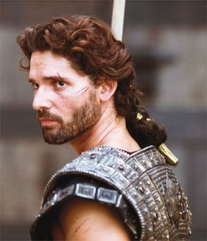 "Men:  Eric Bana, ""Troy."""