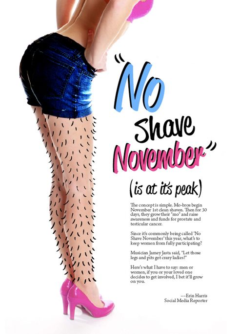 No Shave November on Behance
