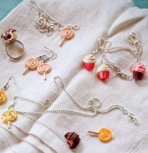 Cute Candy Charm DIY Jewelry   AllFreeJewelryMaking.com