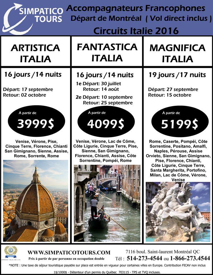 #voyages, #italie, #europe, #tourisme, #vacances, #simpaticotours