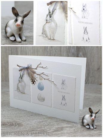 Karten | Sticken & Papier