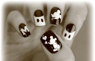 pintura de uñas con mickey - Buscar con Google