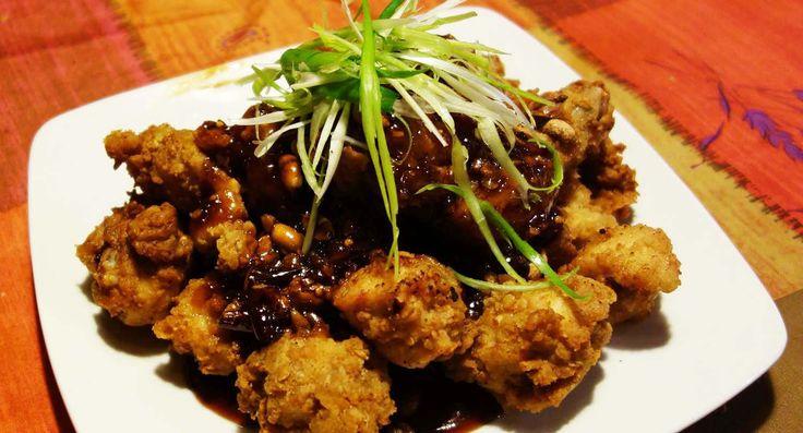 Dakgangjeong: Poulet frit à la coréenne sauce sucré-épicé