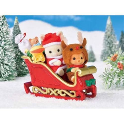 Sylvanian-Families-Calico-Critters-Dolls-Animals-Baby-Christmas-Set-Se-192-Japan