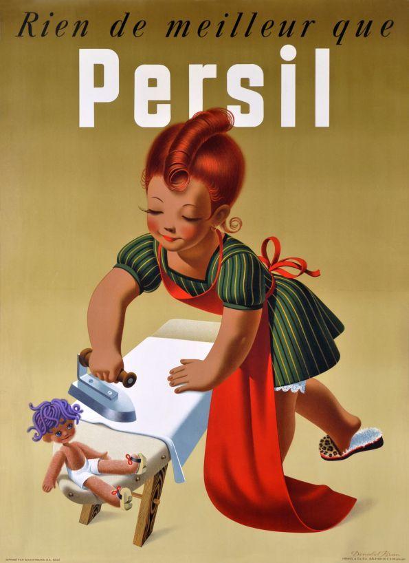Persil, Rien de meilleur que Persil by Brun Donald / 1945