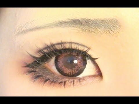 Tutorial : Anime Eye Makeup 29 - YouTube