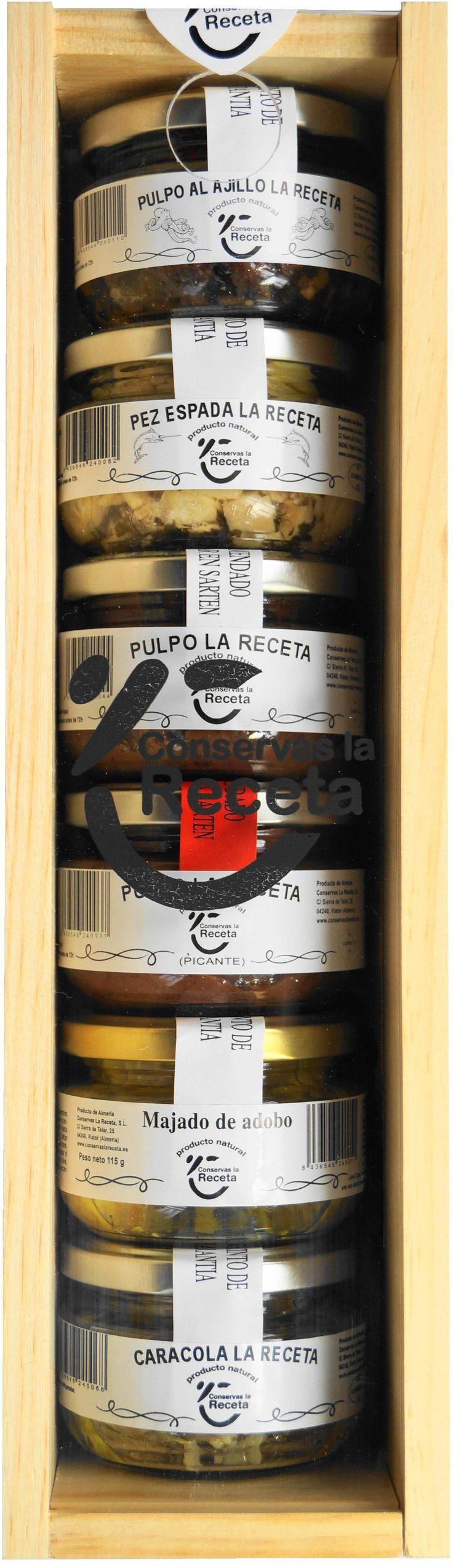 Lote La Receta - 125 gramos (6 unidades) €25