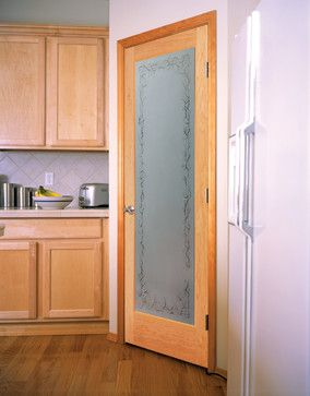 jasmine decorative glass interior door - Glass Interior Doors