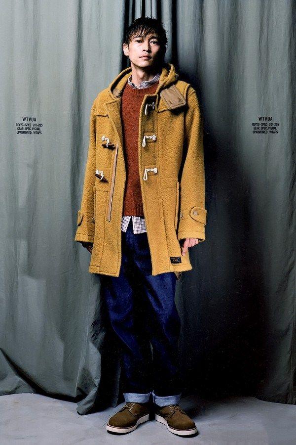 GRIND Magazine Fall/Winter Urban Wear featuring Yosuke Kubozuka