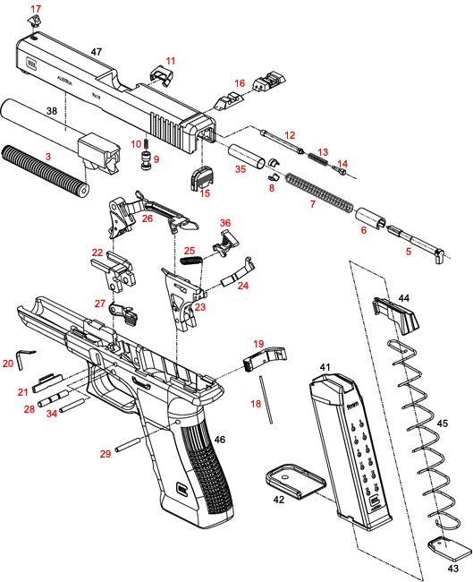 glock 17 how it works my style pinterest glock and
