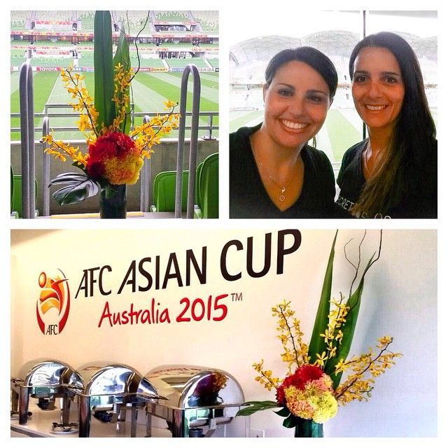 Corporate suite arrangements for the AFC Asian Cup