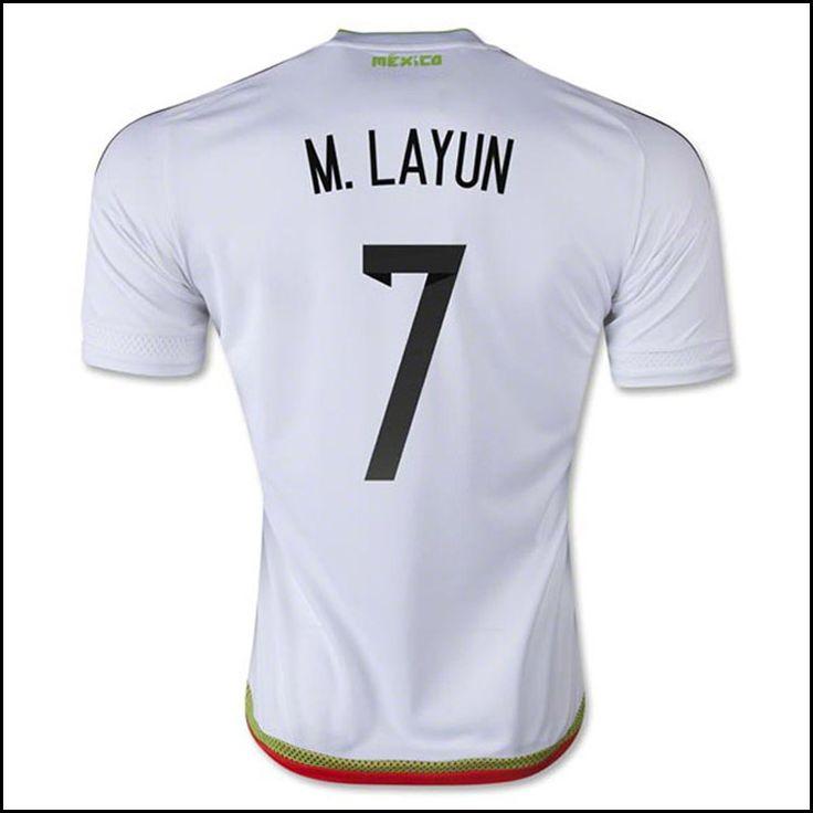 world cup qualification nigeria soccer jerseys 2018 home green mexico national team 2015 m.layun awa