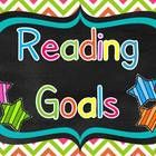 A great way to display reading goals in your classroom. Each reading goal uses I statements and is written in student friendly language. The package contains editable pages to write your own class goals or make individual goals for students. $