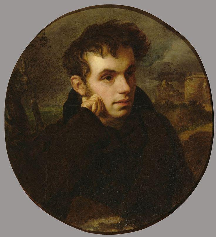 Орест Кипренский - портрет Василия Андреевича Жуковского(1816 год).