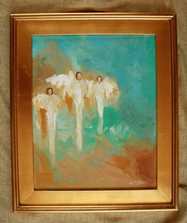 Best 25 angel paintings ideas on pinterest paintings of for Angel paintings for sale