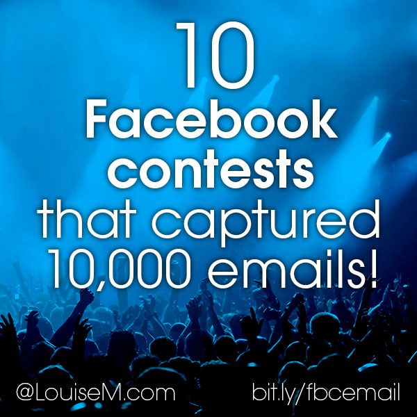 To double your email list with #Facebook contests, check this out to see how 10 different businesses succeeded with a unique Facebook layout! -- http://louisem.com/5442/facebook-contests-emails #FacebookTips #FacebookMarketing #FacebookPages