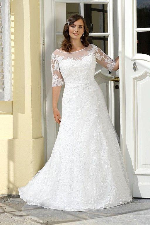 ... Kurvige hochzeitskleider, Plus size bräute und Hochzeitskleid-Stile