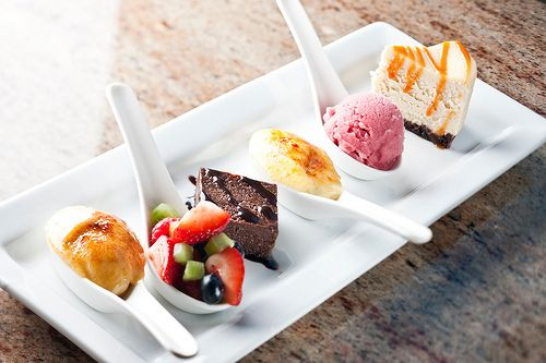The perfect dessert sampler, it seems