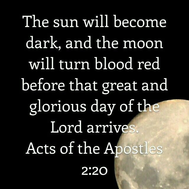 red moon bible quote - photo #21