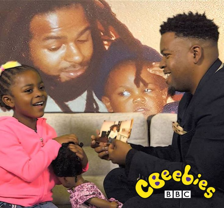 Watch these dads and daughters discuss everything from Rosa Parks to the Jamaican football team. These families are marking Black History Month, but you can use anything that's significant to you to start a chat about your own family's heritage.