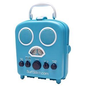 New Surfstitch Beach Sound Radio Lounge Blue