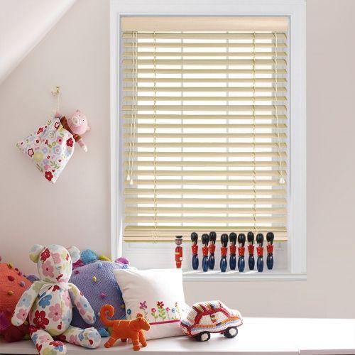 Linen Cream Wooden blinds