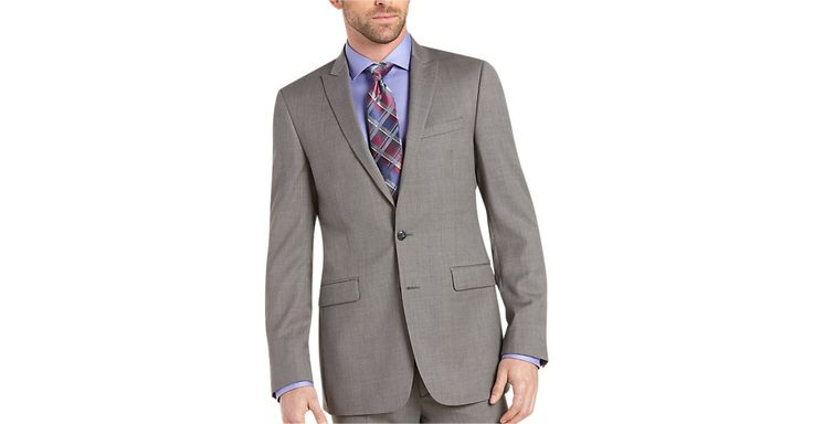 Check this out! Calvin Klein Gray Slim Fit Suit - Extreme Slim Fit from MensWearhouse. #MensWearhouse