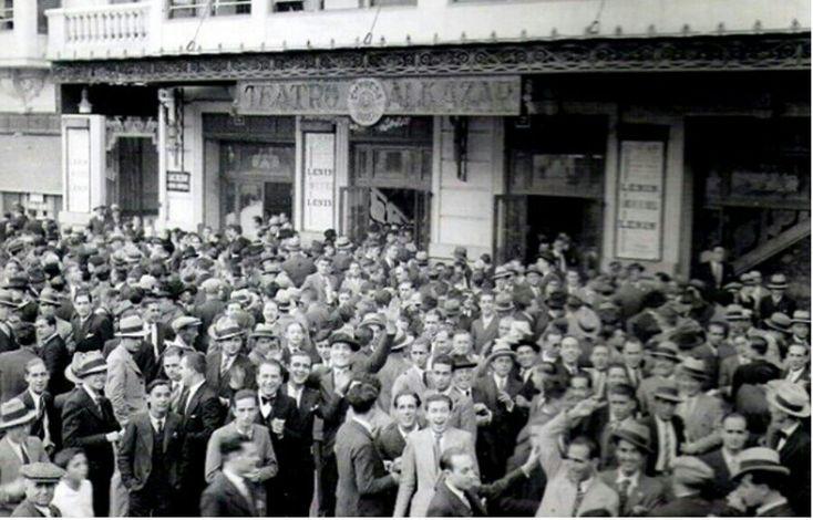 Teatro Alcázar en la calle General San Martín